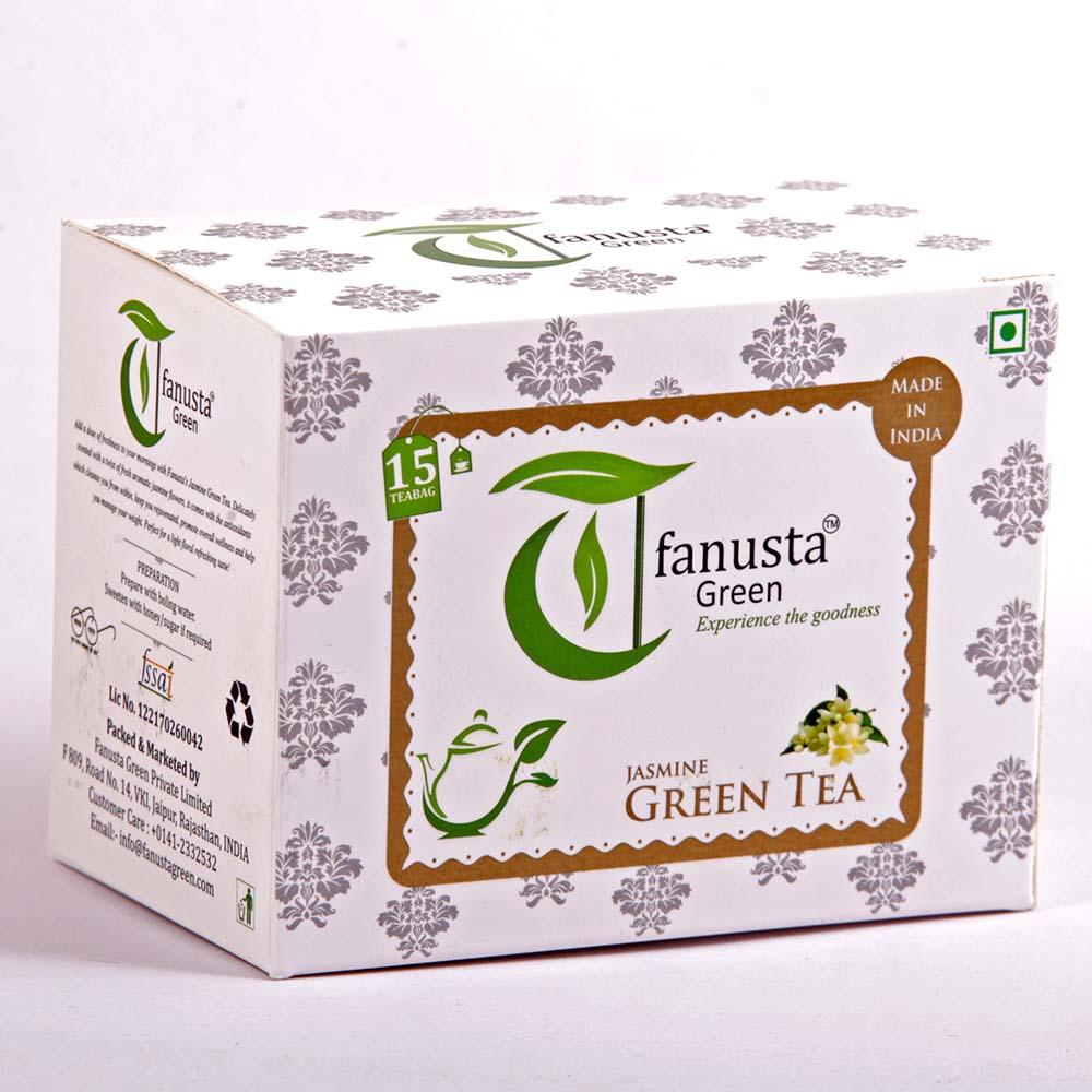 green tea jasmine flavour 15 tea bags