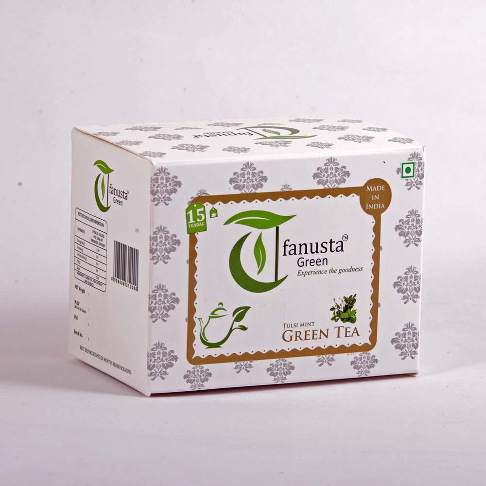 green tea tulsi 15 tea bags