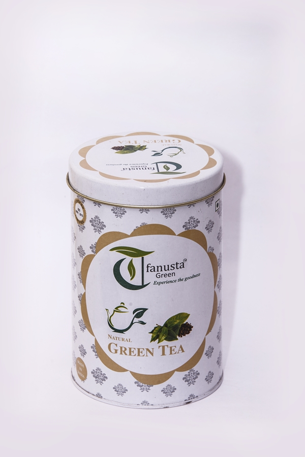 natural green tea 250 gm container 1