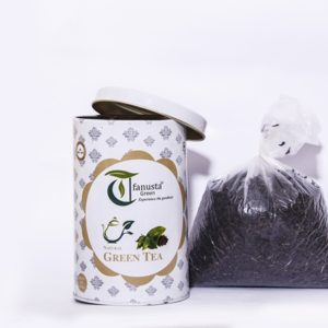 natural green tea 250 gm container 2